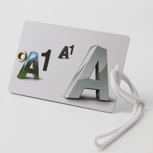pretty luggage tags