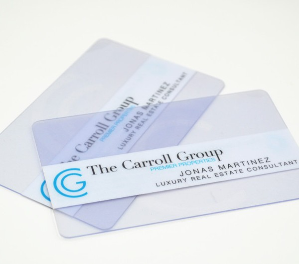 Transparent pvc cards cheap transparent business cards clear pvc card plastic clear business card colourmoves Gallery