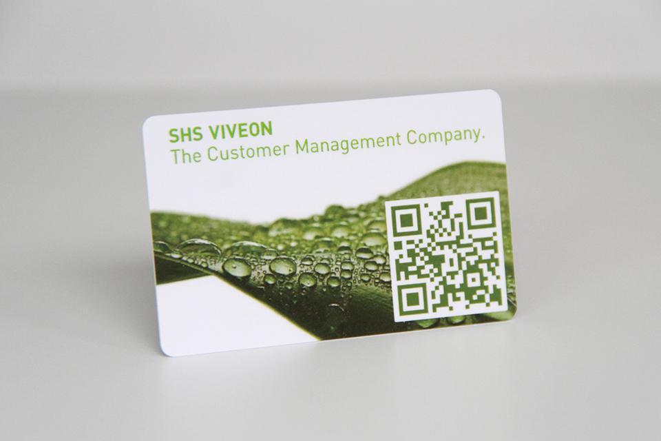 Plastic Business QR Code Card Unique QR Code Card Plastic PVC Card