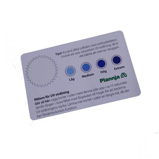 customized spot UV cards