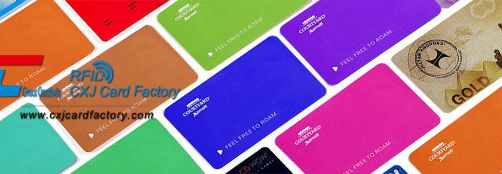 colorful custom printed pvc cards