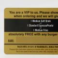 Plastic MembershipVIP cards