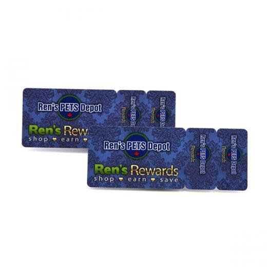 custom die cut business cards