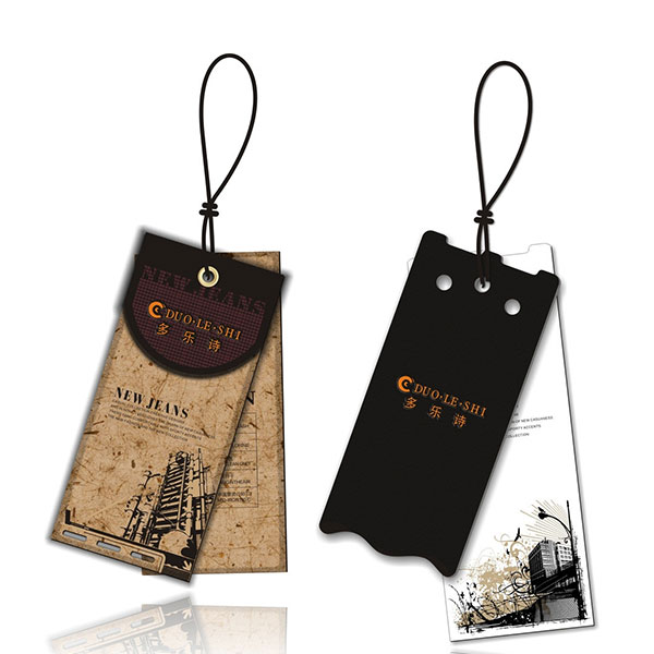 Clothing Paper Tags Eco-friendly Support Custom