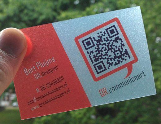 custom qr code cards