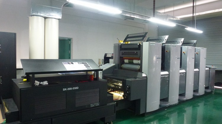 4 color offset printing