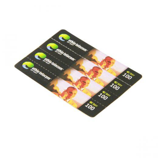 paper scratch card