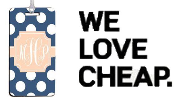 cheap luggage tag