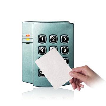 Access control smart card