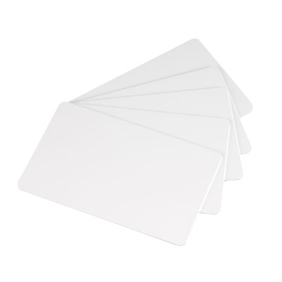 Blank White smart cards