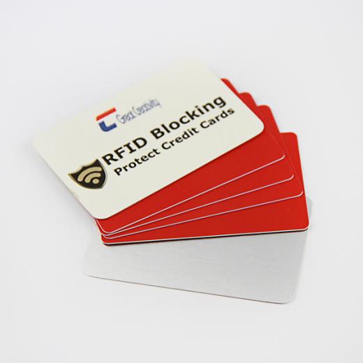 Custom Blocking Cards