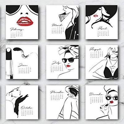 trendy-calendar-card