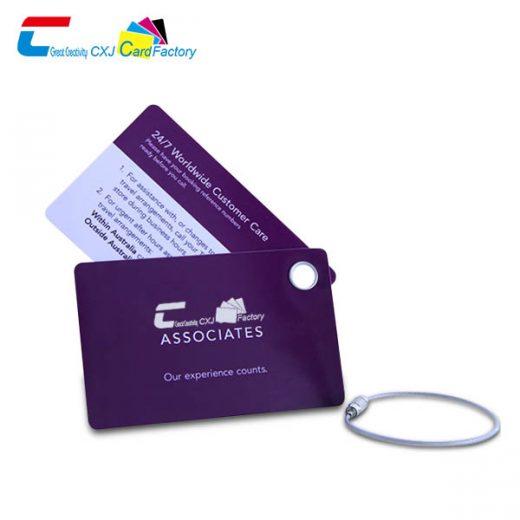 wlohesale Plastic Travel Bag tags