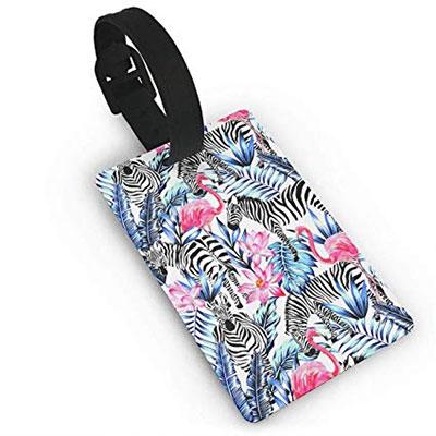 flamingo-luggage-tag