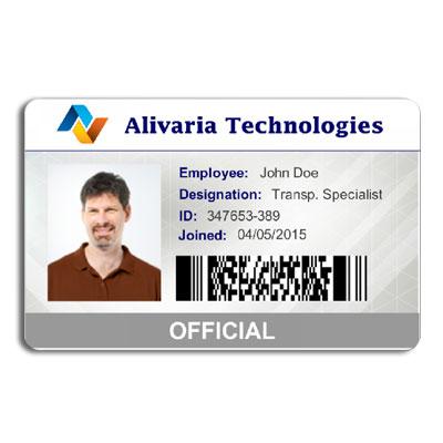 id card barcode