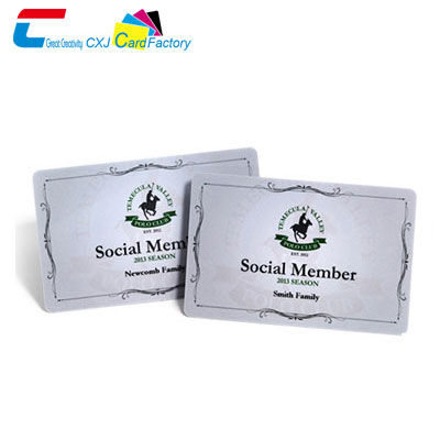 personalised membership cards