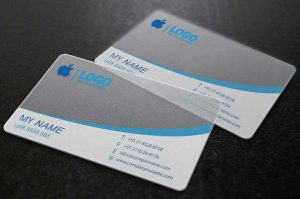 pvc buiness card