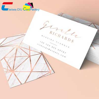 rose gold cardstock