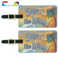 tropical luggage tags