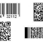 QR code cards and bar code cards