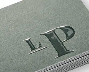 UV card printed