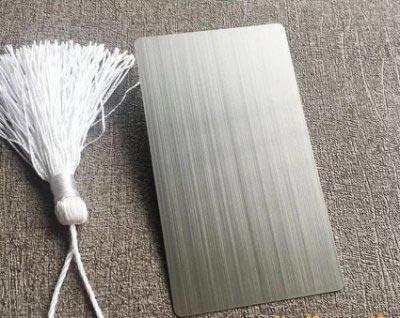 Metallic brush craft