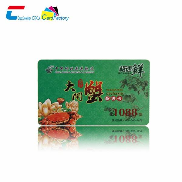 colour plastic cards