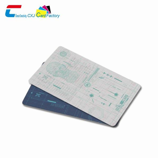 custom plastic id cards