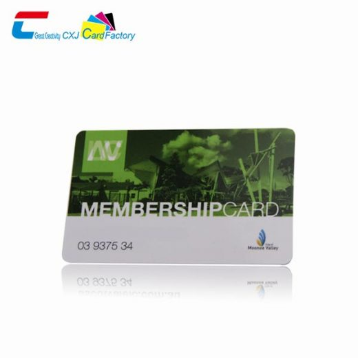 plastic card printing services
