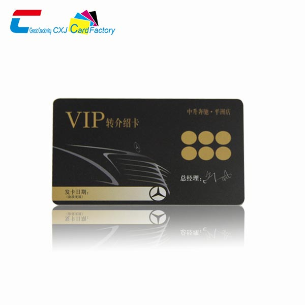 vip cards for business