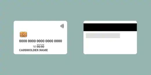 Make blank magnetic stripe cards