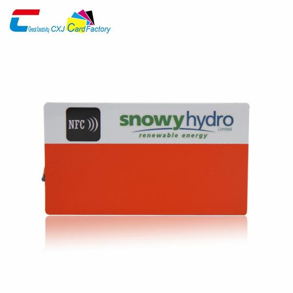 custome NFC Smart Card Cheap NFC Card supplier